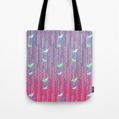 Origami Cranes // Graphic Print Tote Bag
