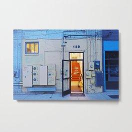 Artist Building Metal Print