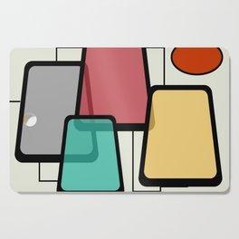 Mid-Century Modern Art Landscape 1.1 Cutting Board