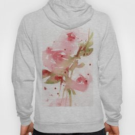 Abstract Roses Hoody