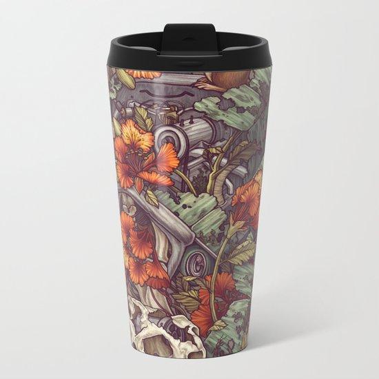 Robo Tortoise Metal Travel Mug