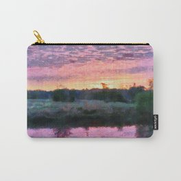 Monet Inspired Sunrise Carry-All Pouch