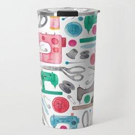 Sewing Pattern. Travel Mug