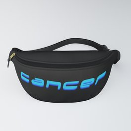 Cancer (Blue Text) Fanny Pack