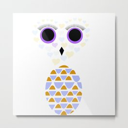 Owls Just Want to Have Fun No.5 Metal Print