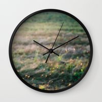 fairies Wall Clocks featuring Fairies by EarthandSky