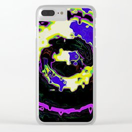 Abstract Seasonal Changes Clear iPhone Case