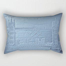 Tower Bridge art Rectangular Pillow