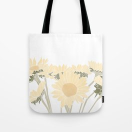sunflower bouquet Tote Bag