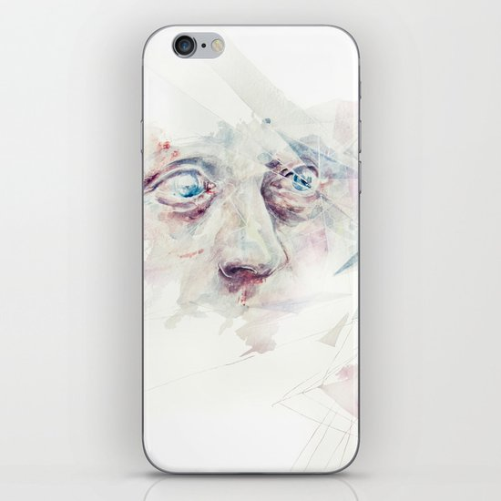 living in delay iPhone & iPod Skin