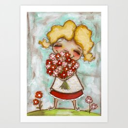 Smells like Spring - by Diane Duda Art Print