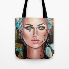 Memories of Dali Fantasy Surrealism by Laurie Leigh Tote Bag