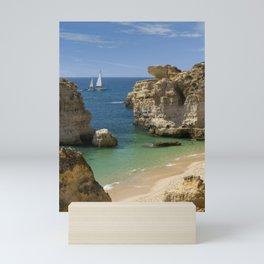 Sao Rafael beach, Portugal Mini Art Print