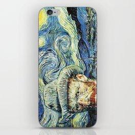 Starry Night Art Van Gogh iPhone Skin
