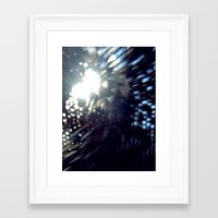 gem Framed Art Prints featuring Gem by Katie Troisi