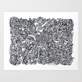 BOOM Ink5 Art Print