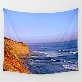 Sunset over the Great Southern Ocean Wall Tapestry