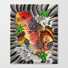 Fall Koi Canvas Print