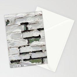 Peeling Brick Wall 2 Stationery Cards