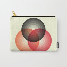 Three colour circles, inspired by Lacouture's Répertoire chromatique Carry-All Pouch