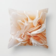 Old Style Rose Flower 3464 Throw Pillow