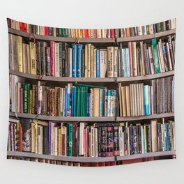 Library books Wall Tapestry