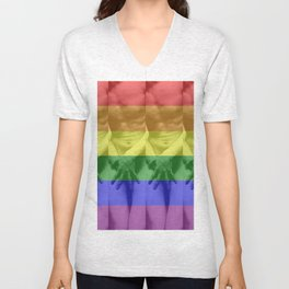 Gay Nudity Pride Unisex V-Neck
