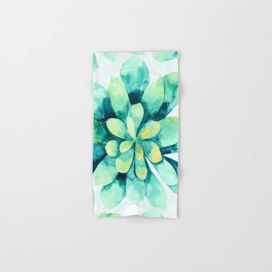 tropical flower  Hand & Bath Towel