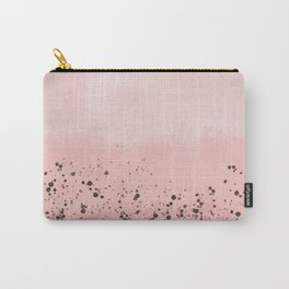 Abstract speckled background - pink Carry-All Pouch