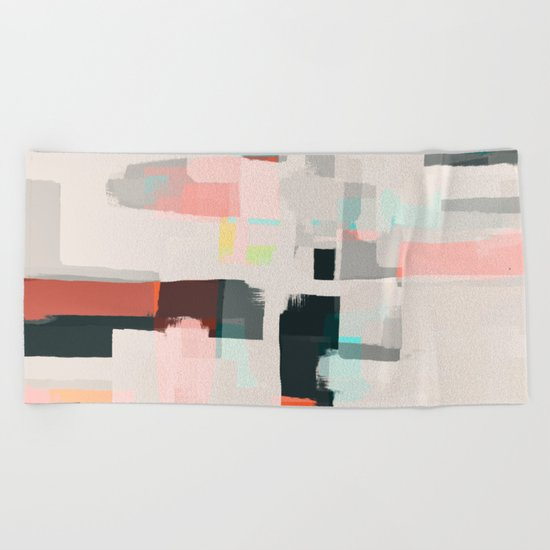 Abstract Painting No. 7 Beach Towel