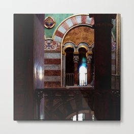 Inside a Church Metal Print