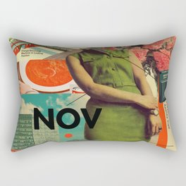 NOVember Rectangular Pillow