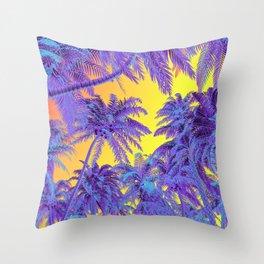 Polychrome Jungle Throw Pillow