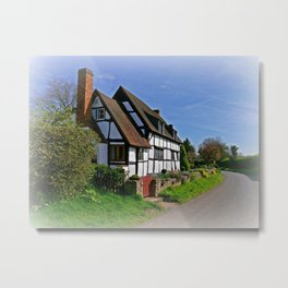 Chocolate Box Cottage Metal Print