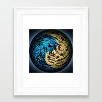 arrakis Framed Art Prints featuring New Arrakis by Fringeman