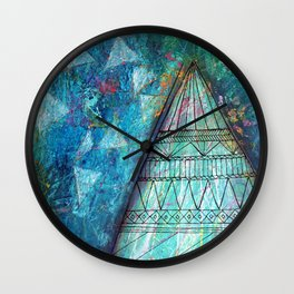 Do Not Fear the Stars Wall Clock