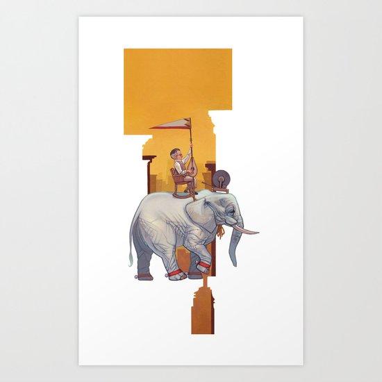 Start Small, Think Big Art Print