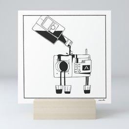 Camera Shots Mini Art Print
