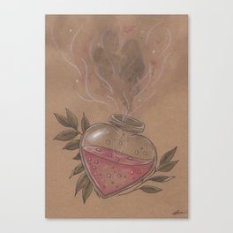Love Potion Canvas Print