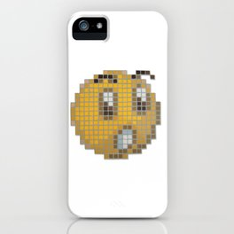 Emoticon Ohh iPhone Case