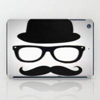 gentleman iPad Cases featuring Gentleman by Amy Copp