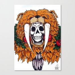 Bear Bones Canvas Print