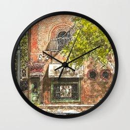 Nashville street corner Wall Clock