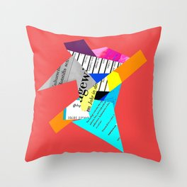Gew Throw Pillow