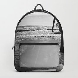 The Support Of The Pier  Backpack