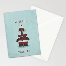 Where's Wall-e? Stationery Cards