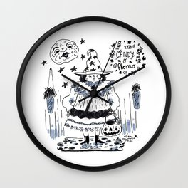 Candy o plomo Wall Clock