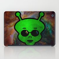 alien iPad Cases featuring Alien by Spooky Dooky