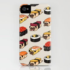 Sushi Pug iPhone (4, 4s) Slim Case