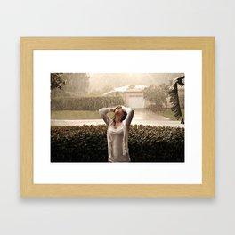 Afternoon Rain Framed Art Print
